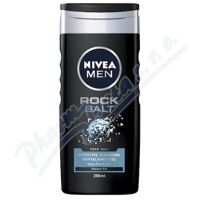 Zobrazit detail - NIVEA Sprchový gel Men Rock Salt 250ml č.  84084