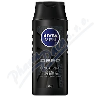 Zobrazit detail - NIVEA MEN NIVEA MEN Šampon Deep 250ml č. 88508