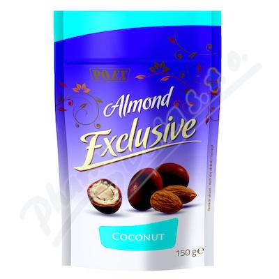 Zobrazit detail - Mandle v mléčné čokoládě s kokosem 150g