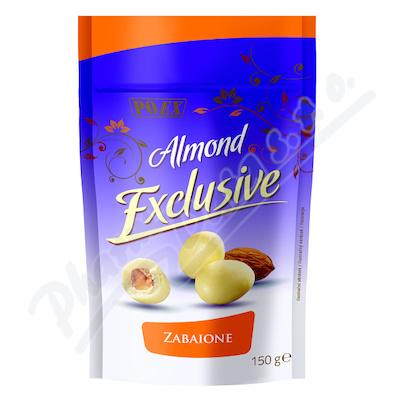 Zobrazit detail - Mandle v bílé čokoládě s vaječným likérem 150g