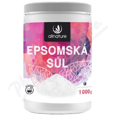 Zobrazit detail - Allnature Epsomská sůl 1000 g