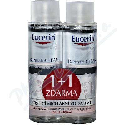 Zobrazit detail - EUCERIN DermatoCLEAN mic. voda 400ml 1+1ZDARMA_2018