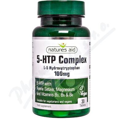 Zobrazit detail - 5-HTP Complex 100 mg (L-5 Hydroxytryptofan) tbl. 30