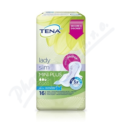 TENA Lady Slim Mini Plus Wings ink.vlož.16ks762306