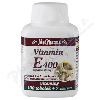 MedPharma Vitamin E 400 tob.107