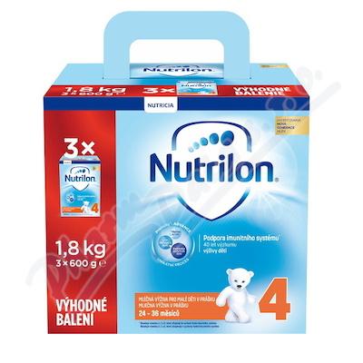 Nutrilon 4 Výhodné balení 3x600g