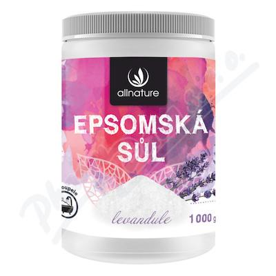 Zobrazit detail - Allnature Epsomská sůl Levandule 1000 g