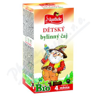 Zobrazit detail - Apotheke Dětský čaj BIO bylinný-běžné pití 20x1. 5g