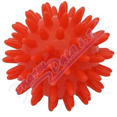 KineMAX Hedgehog Masážní míček ježek 6cm červený
