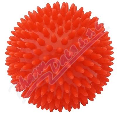 Zobrazit detail - KineMAX Hedgehog Masážní míček ježek 9cm červený