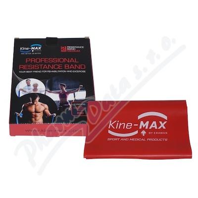 Zobrazit detail - KineMAX Resistance band Posilovací guma červ.  2m