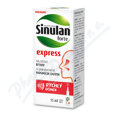 Zobrazit detail - Walmark Sinulan Express Forte 15ml spray
