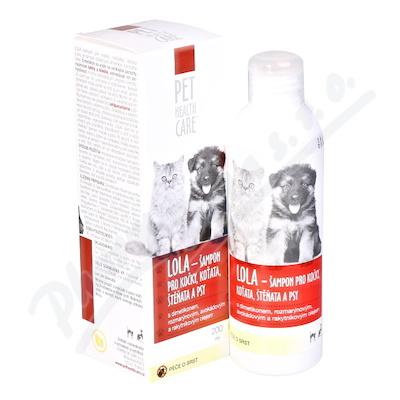 Zobrazit detail - PET HEALTH CARE LOLA šamp.  kočky antiparaz.  200ml