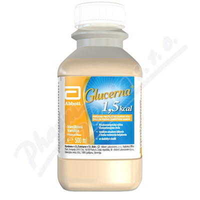 Zobrazit detail - Glucerna 1. 5 kcal vanilka por. sol. 1x500ml