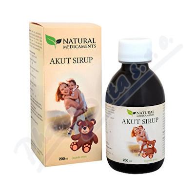 Zobrazit detail - Natural Medicaments Akut sirup 200ml