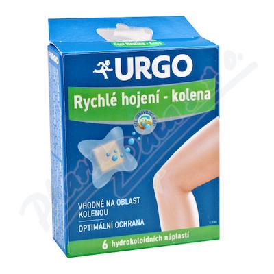 URGO FAST HEALING-KNEE Na kolena hydrok.nápl.6ks