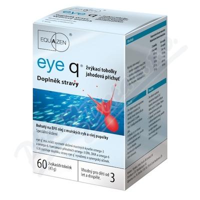 Zobrazit detail - eye q žvýkací tob. 60 jahodová příchuť