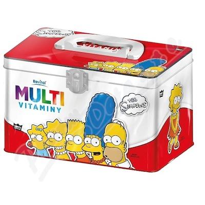 Zobrazit detail - The Simpsons Multivitaminy v plechové dóze