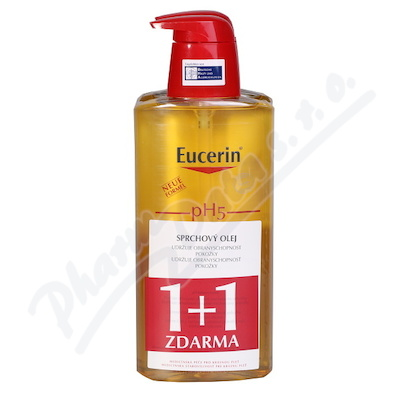 Zobrazit detail - EUCERIN pH5 Relipidační sprchový olej 400ml 1+1