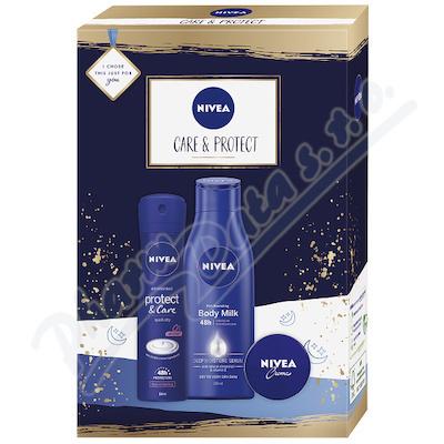 Zobrazit detail - NIVEA set ženy Sprej AP P&C +Body Milk +NIVEA krém