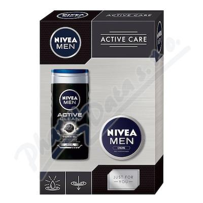 Zobrazit detail - NIVEA set muži Men krém 75ml+SG Active clean 250ml