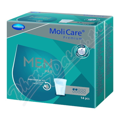 MoliCare Men 2 kapky P14 (MoliMed for men active)