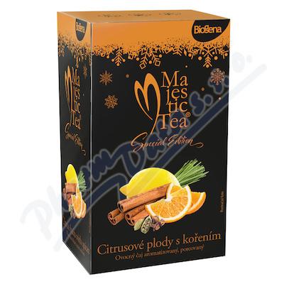 Zobrazit detail - Čaj Majestic Tea Citrusové plody s kořením 20x2. 4g