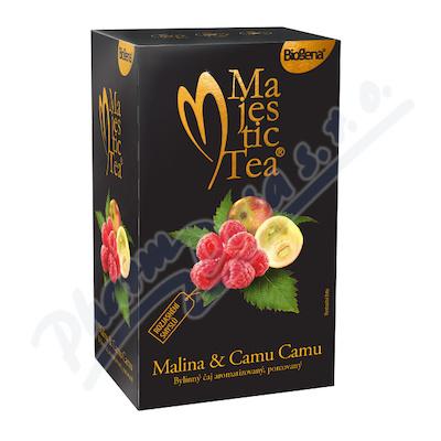 Zobrazit detail - Čaj Majestic Tea Malina & Camu Camu 20x2. 5g