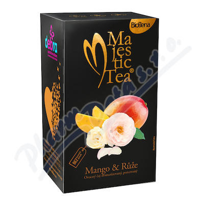 Zobrazit detail - Čaj Majestic Tea Mango & Růže 20x2. 5g