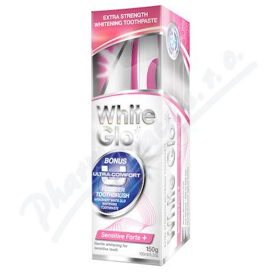 Zobrazit detail - WHITE GLO Sensitive bělící zubní pasta 150g