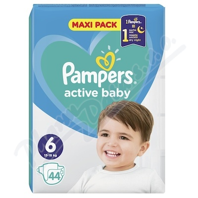 PAMPERS Active Baby VPP 6 Extra Large 44ks