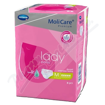 Molicare Lady Pants 5 kapek M 8ks
