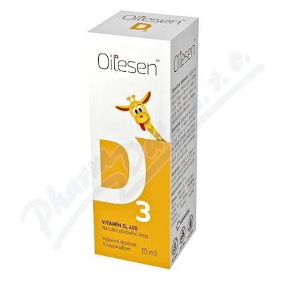 Zobrazit detail - Oilesen Vitamin D3 400 kapky 10ml