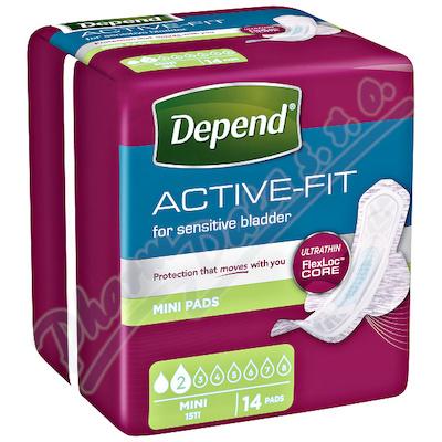 Depend Active-Fit Mini inkont.vložky ženy 14ks