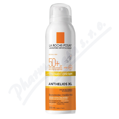 Zobrazit detail - LA ROCHE-POSAY ANTHEL.  BRUM Body mist SPF50+ 200ml