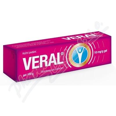 Zobrazit detail - Veral 10 mg-g gel 1x100g II
