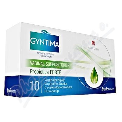Fytofontana Gyntima vagin.čípky Probio Forte 10 ks