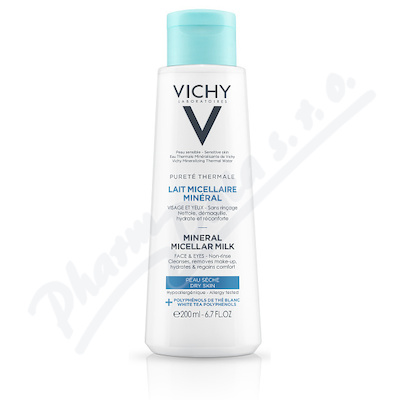 VICHY Pureté Thermale Milk Dry 200 ml