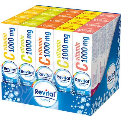 Revital Vitamin C 1000mg 5přích. 20x20 eff.tbl.BOX