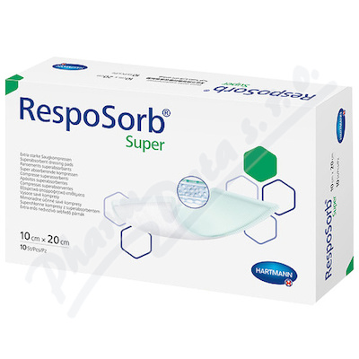 Resposorb Super 10x20cm 10ks