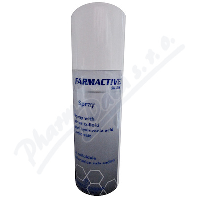 Farmactive Silver Spray s AG a kys.hyaluro.125ml