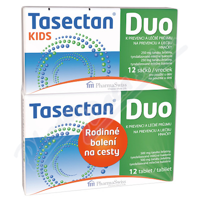 Tasectan Duo tbl.12+KIDS 12 sáčků