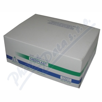 24x Náplast Mediplast 2.5cmx2m tkaná 1021 cívková