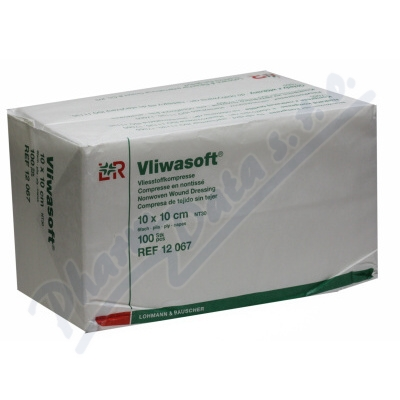 Komprese Vliwasoft nest.10x10cm/6v. 100ks