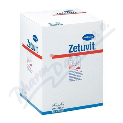 Kompres Zetuvit nester.10x10cm 30ks 4138016