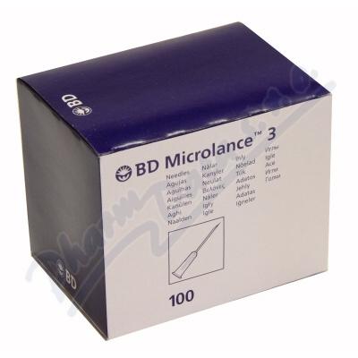 BD Microlance Inj. jehla 25G 0.50x25 oranž.100ks