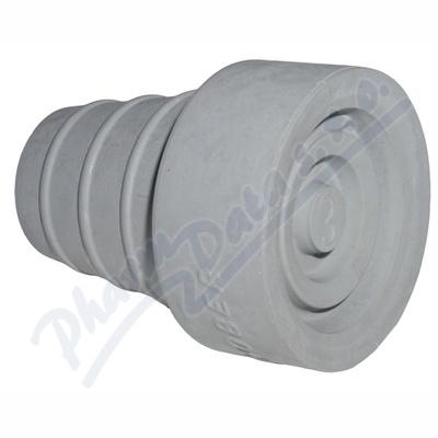 Zobrazit detail - Násadec na berle č. 3 TS pryž. šedý kovov. výztuž