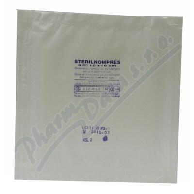 Gáza hydr.kompr.ster.10x10cm/2ks Steriwund