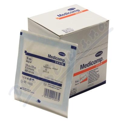 Zobrazit detail - Kompres Medicomp Drain ster. 7. 5x7. 5cm 25x2ks