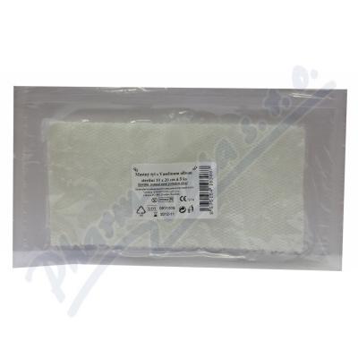 Krytí sterilní-mastný tyl 10x20cm-5ks Steriwund